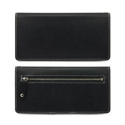 [한스마레] 슬림 스마트 장지갑 - 블랙