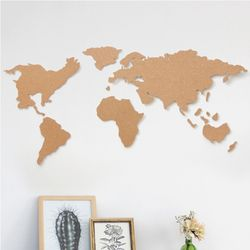 피스 코르크 세계지도 월드맵