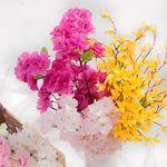 봄꽃부쉬 개나리진달래벚꽃 FAIAFT(조화)