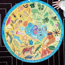 직소퍼즐 이부 다양한 생물들 500피스