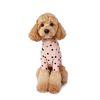 Flocking Dot T-Shirt 후로킹 도트 티셔츠 Milk Pink