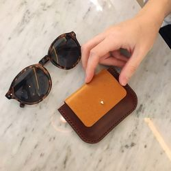 Rma card wallet Brown