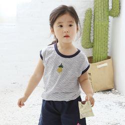 파인애플 유아 반팔 티셔츠 T143