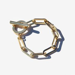 Gold Bold Chain Bracelet 골드볼드체인 팔찌