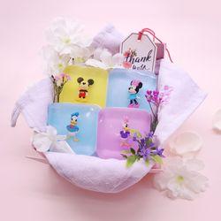 디즈니 커플 비누 (미키+미니 데이지+도날드)