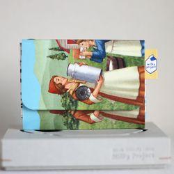 [밀키 원형파우치 증정(랜덤)] 밀키파우치(Milky Pouch) Card & Coin Case [KP1323]