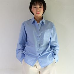 modern issue cuffs shirt (3color)