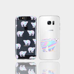 아이폰5se 투명케이스 GPJ-홀로그램B