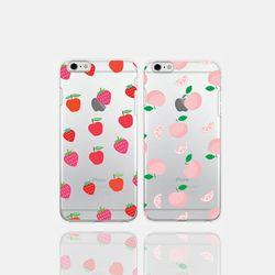 아이폰5se 투명케이스 GPJ-과일맛
