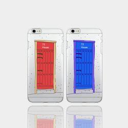 아이폰5se 투명케이스 GPJ-모니카