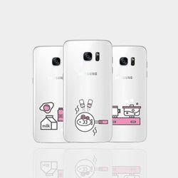 아이폰5se 투명케이스 GPJ-큐티키친