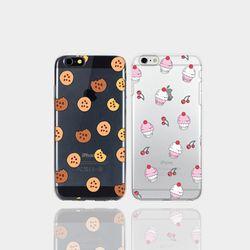 아이폰5se 투명케이스 GPJ-쿠키n아이스크림