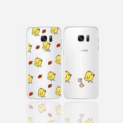 아이폰5se 투명케이스 GPJ-뼝아리