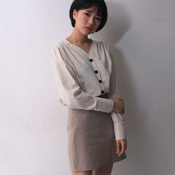 urban mode daily blouse (3color)