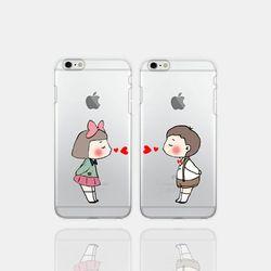 아이폰5se 투명케이스 GPJ-뽀뽀