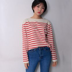 magic stripe T-shirt (3color)
