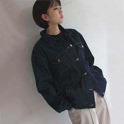 cookie denim jacket (2color)