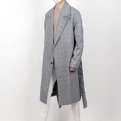 Hyoji regular fit tim check trench coat
