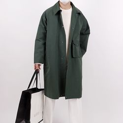 Flare out overfit mac coat