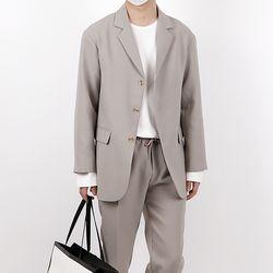 Trendy 3 button suit jacket