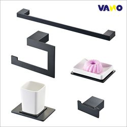 바노테크 욕실 악세서리5품세트 VA-8700BL