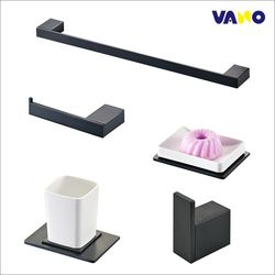 바노테크 욕실 악세서리5품세트 VA-8900BL