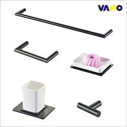 바노테크 욕실 악세서리5품세트 VA-9000BL