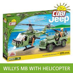 지프 MILLYS MB WITH HELICOPTER 24254