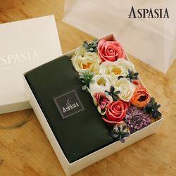 하트시그널 초콜릿 플라워 박스-쇼핑백