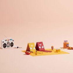 시디즈X디즈니 C300 휴대용 의자 + 돗자리매트