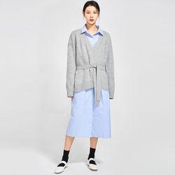 holly wrap wool cardigan