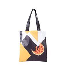 PARROM eco bag 피자 옐로우