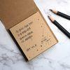 윤동주 서시 크라프트 포스트잇(점착 메모지)