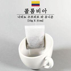 커피티백 콜롬비아 라 유니온 31