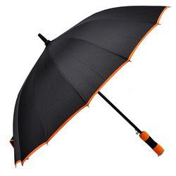 60 폰지5색바이어스 우산 색상랜덤 장우산 CH1379244