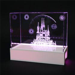 피규어 전시용 캐슬 케이스 LED 조명
