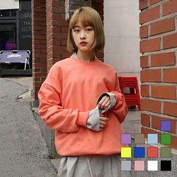 2067 컬러칩 맨투맨 (13colors)