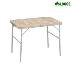 베이직 2폴딩 캠핑 우드 테이블