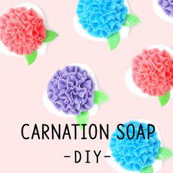 카네이션 비누 만들기 패키지 DIY