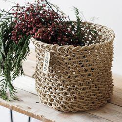 Woven Basket (VT1N-22NAT)