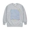 SQUARE HEAVY SWEAT OVERSIZED CREWNECK GREY