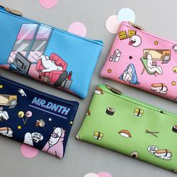 Mr.donothing Pencil case (leather) ver.1
