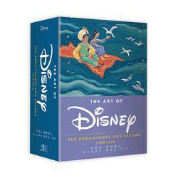 디즈니 르네상스 포스트카드 컬렉션 100(엽서북)