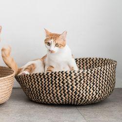 고양이도넛 제넷바구니 x 스크래쳐 리필 S 사이즈 3개