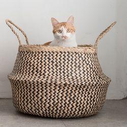 고양이도넛 제넷바구니 고양이하우스