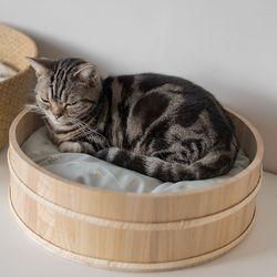 고양이도넛 오동오동냥 고양이하우스 L 사이즈