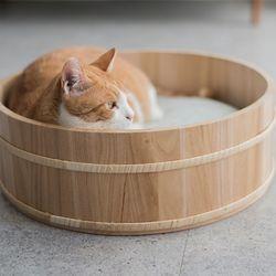 고양이도넛 오동오동냥 고양이하우스 S 사이즈