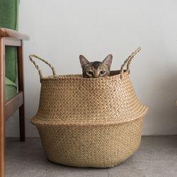고양이도넛 도넛바구니 고양이하우스