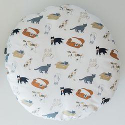 고양이도넛 플레이위드미 방석 L 사이즈