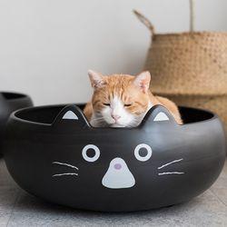 고양이도넛 턱시도도냥 스크래쳐하우스